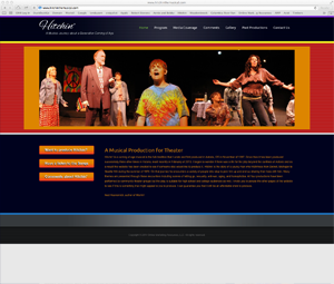 Hitchin' the Musical Website