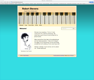 Robert Stevens Music Website